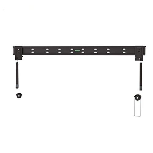 Ultra-Slim Black Fixed/Flat Low-Profile Wall Mount Bracket f