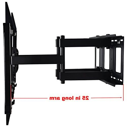 "VideoSecu Articulating TV Large Heavy Swivel Bracket for Most 60"" 62"" 70"" 78"" 80"", Some Models up 85"" LED Dual pulls up to"