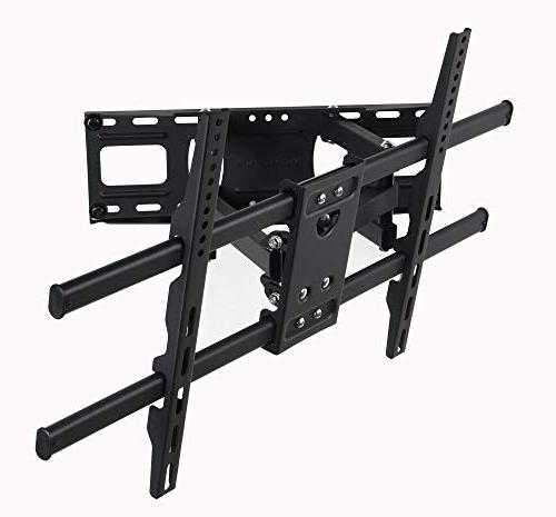 "VideoSecu MW380B5 Articulating Bracket for LED Plasma Up 125 with VESA 400x400 Pulls Out 14"" AW9"