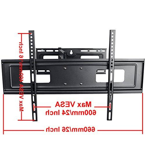 "VideoSecu Mounts TV Wall 32"" 37"" 42"" 46"" 47"" 50"" 52"" 62"" 63"" LCD LED Panel TV with VESA from 200x100 MW365BBM7 BM7"
