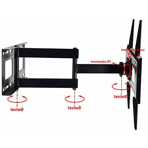 "VideoSecu Wall Mount 32"" 42"" 46"" 47"" 52"" 58"" 60"" 62"" LCD LED TV with VESA 200x100 MW365BBM7"
