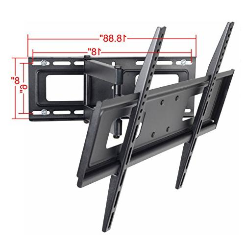 "VideoSecu Articulating Wall for 32"" 37"" 39"" 42"" 46"" 52"" 55"" 58"" 62"" 65"" LED Plasma Panel TV from 200x100 MW365BBM7 BM7"