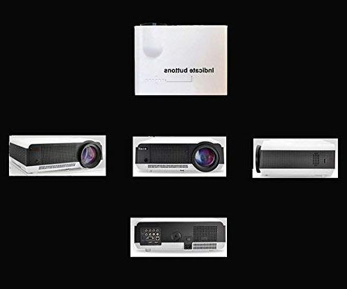 Gzunelic 4500 Android Wifi Video LCD Full Theater Wireless Synchronize Phone Miracast Entertainment