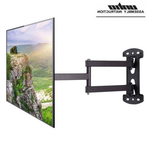 articulating full motion tv wall mount tilt