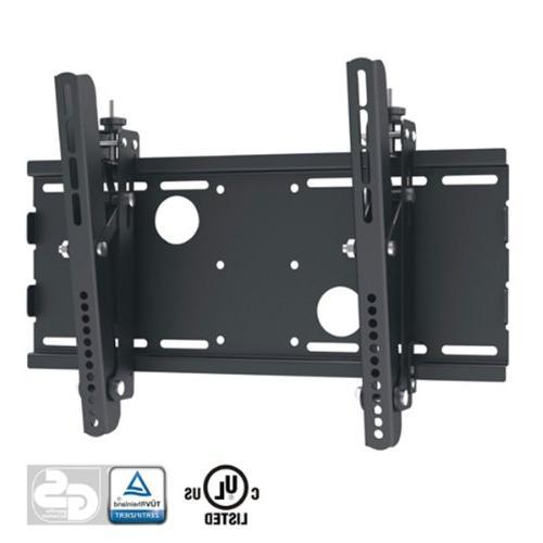 Black Adjustable Tilt/Tilting Wall Mount Bracket for Vu LED3