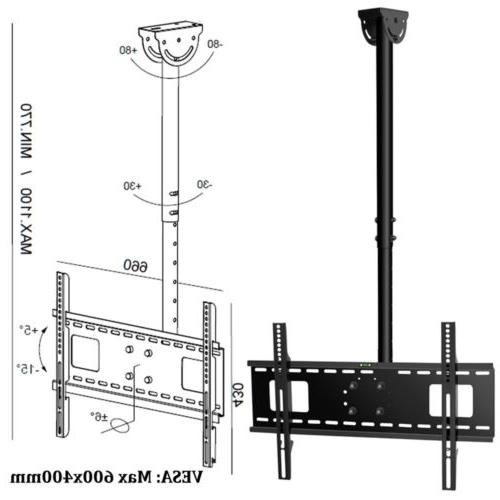 """Ceiling Wall Bracket LED LCD for Samsung LG 42"""" 70"""""""