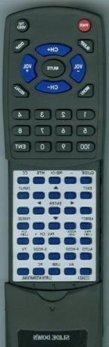CURTIS INTERNATIONAL Replacement Remote Control for LED2400A