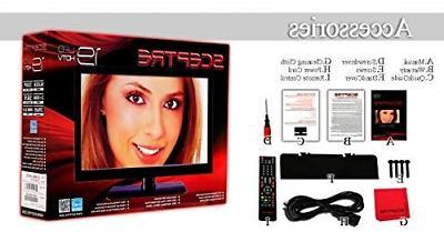 """Sceptre E195BV-SHD 19"""" 60Hz Class LED Ultra-Slim HDTV"""