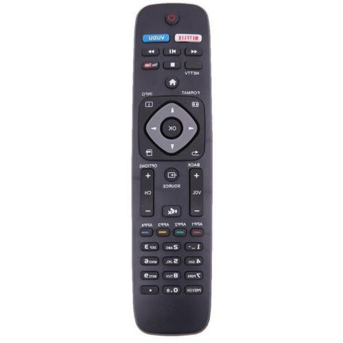 Replacement Remote Control For Philips HD 4K Smart LED TV NH
