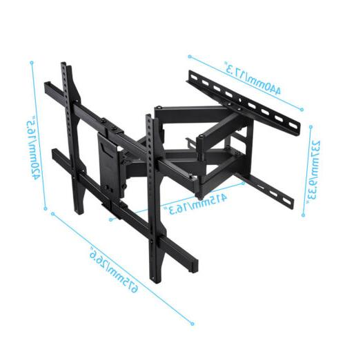 Flat Curved Mount Bracket for Two Arm