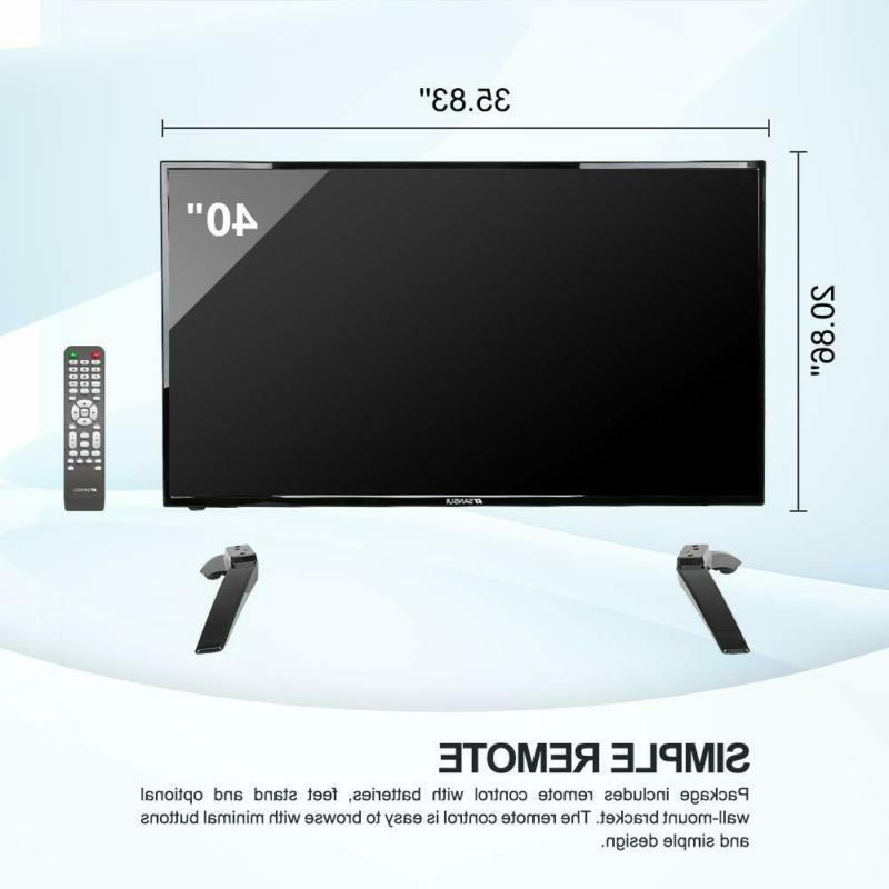 Flat HDTV 1080p HDMI Ports Energy Star Saver