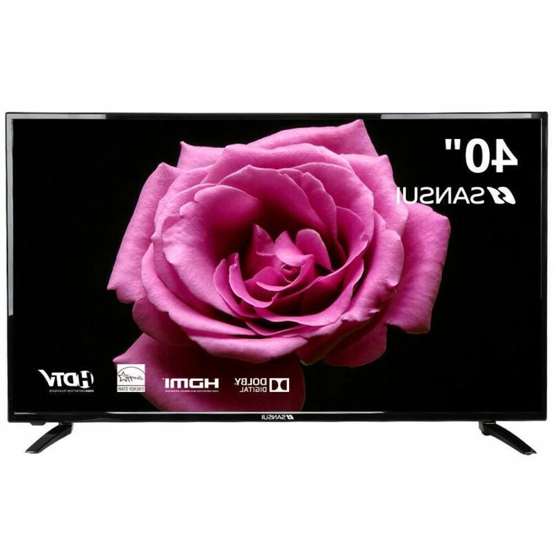 flat screen tv led hdtv 1080p hdmi