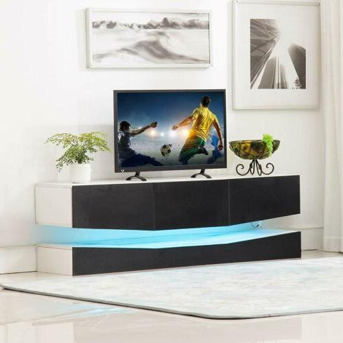 Floating LED TV Stand Wall Mount Entertainment