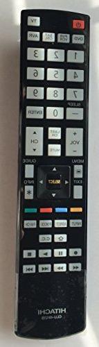 HITACHI CLU-49121S ULTRA THIN LED/LCD HDTV REMOTE CONTROL