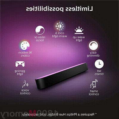 Philips Hue Color Light Black IP20