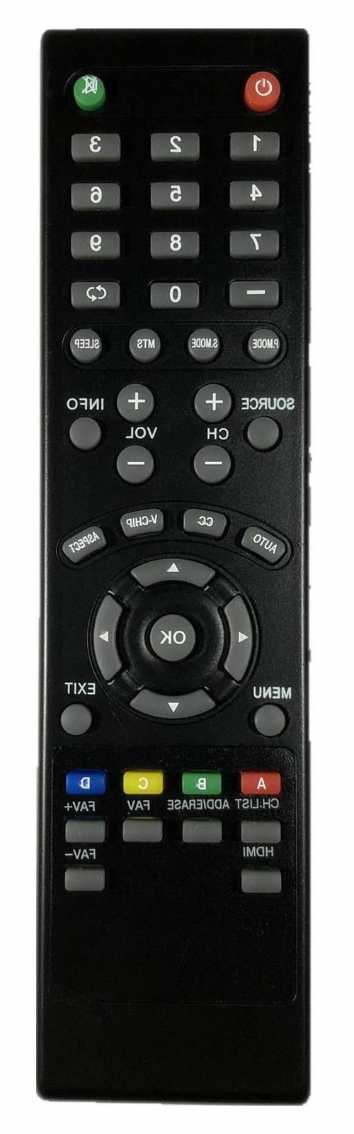 "Seiki LED TV Remote Control for ALL 19""~60"" SEIKI HDTVs - OE"