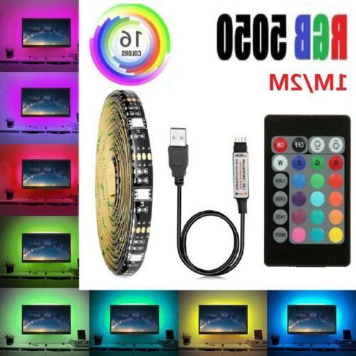 5V USB Lights 5050 Colour with 24Key Remote