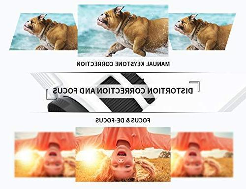 VANKYO Projector, Full HD 1080P 2400 Projector Hrs LED with Stick, HDMI, and USB