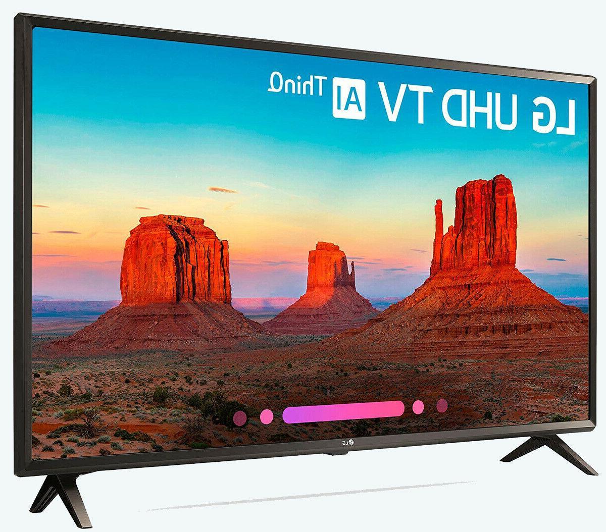 LG 43-Inch 4K HD Smart LED