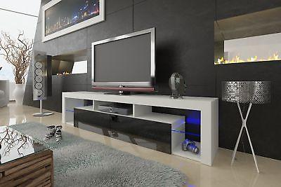 Meble Furniture & LED Wall Floating 79""