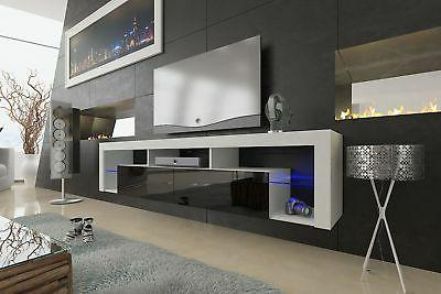 Meble Furniture & Rugs TV LED Wall 79""