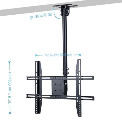 "Metal Monitor Hang Bracket Fit 65"" Adjustable"