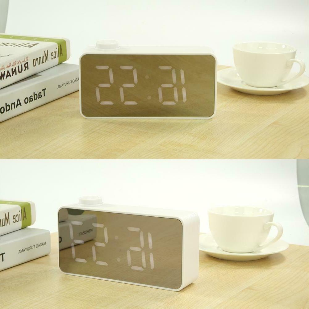 Mini Alarm Voice Control Electronic Desktop Thermometer WT7n