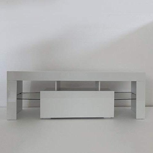Holarose Modern LED TV Cabinet - TV with TV Center, for Living Room Storage