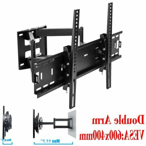 Full Motion SWIVEL TV Wall Mount Bracket 11 13 15 19 22 24 2