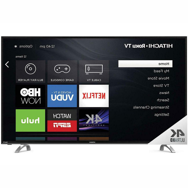 NEW Hitachi Roku TV Bluetooth with -App Control