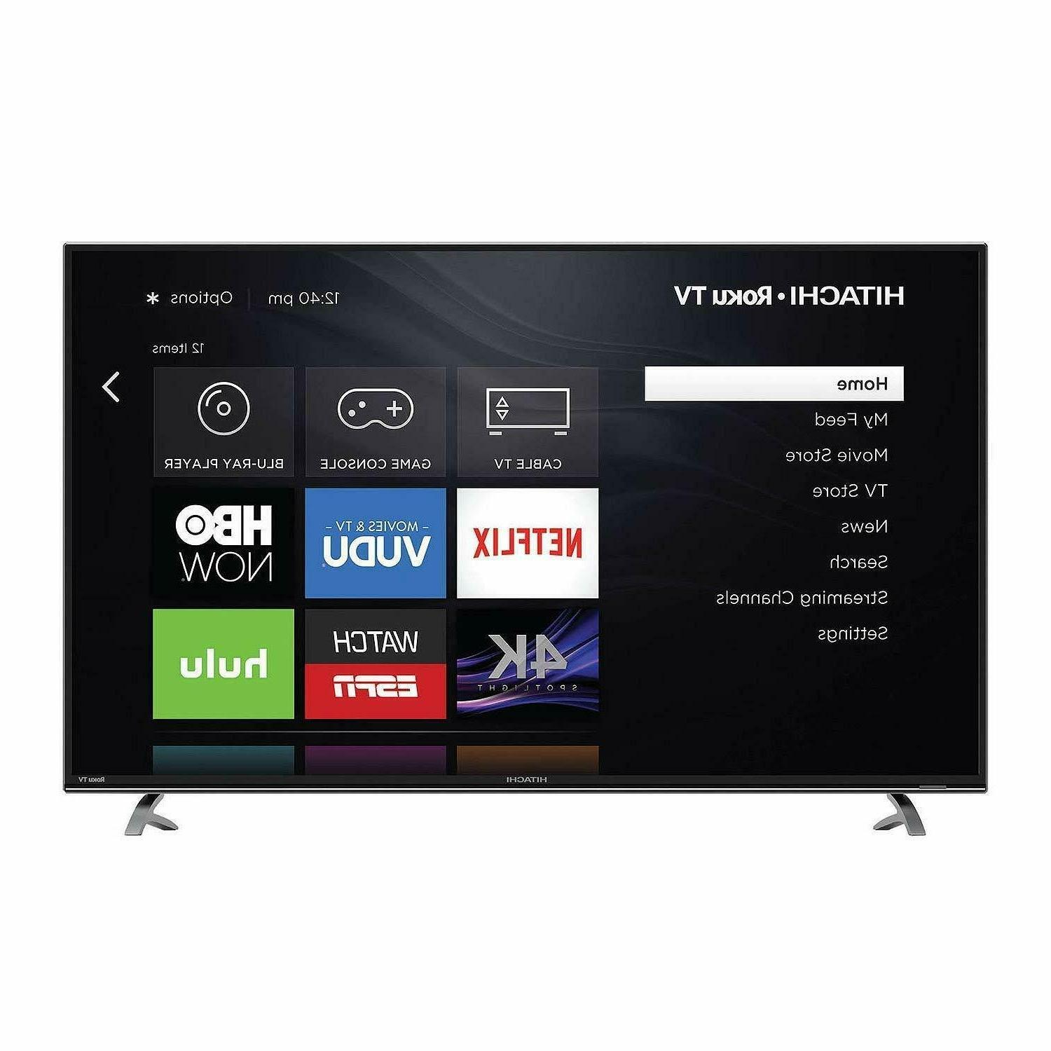 """NEW 50""""4K Roku Smart LED TV with -App Control"""