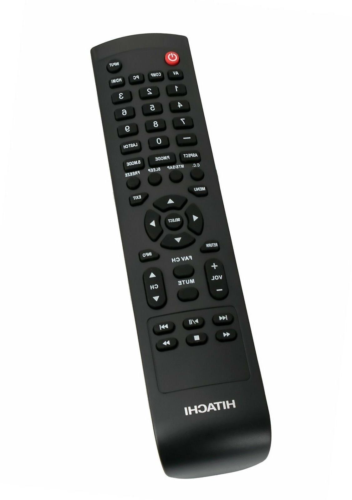 New 9912170970 Remote for HITACHI TV 65L6