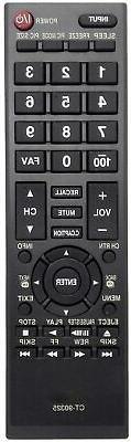 New CT-90325 Remote for Toshiba CT-RC1US-16 28L110U 32L110U