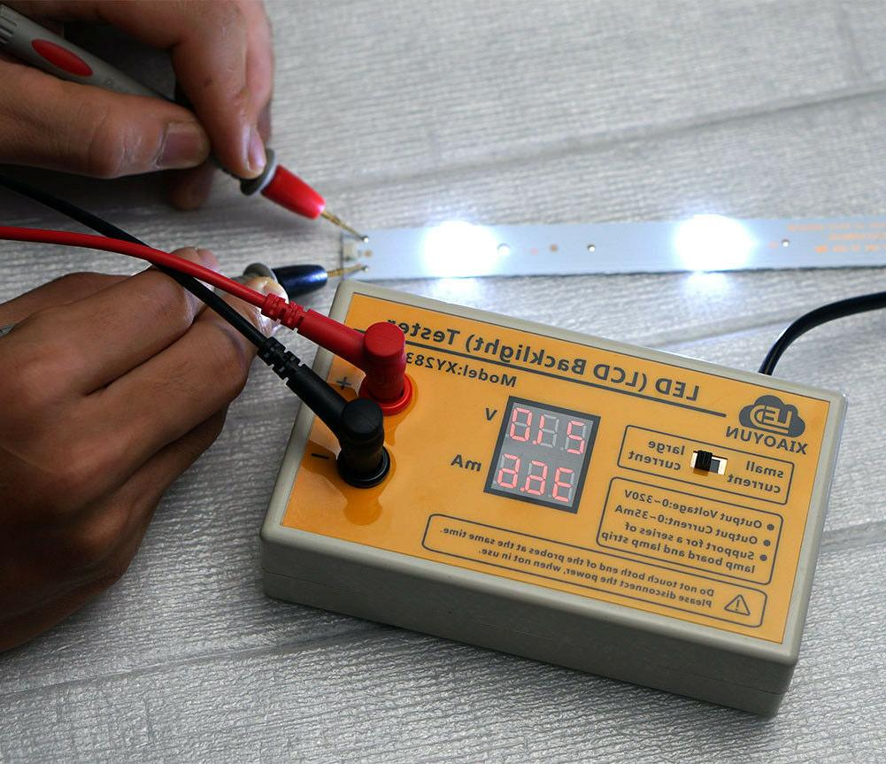 New LED Strip Test Tool with Current and , Repair