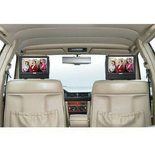 "New Car Dual 9"" Portable AV CD Video"