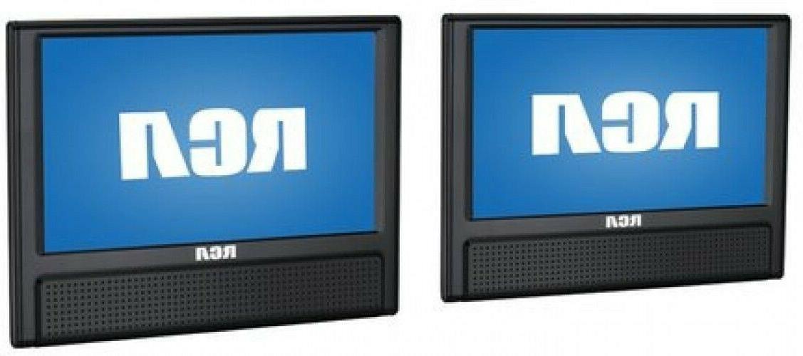 "New RCA Dual Screen 9"" AV CD Video Outputs"