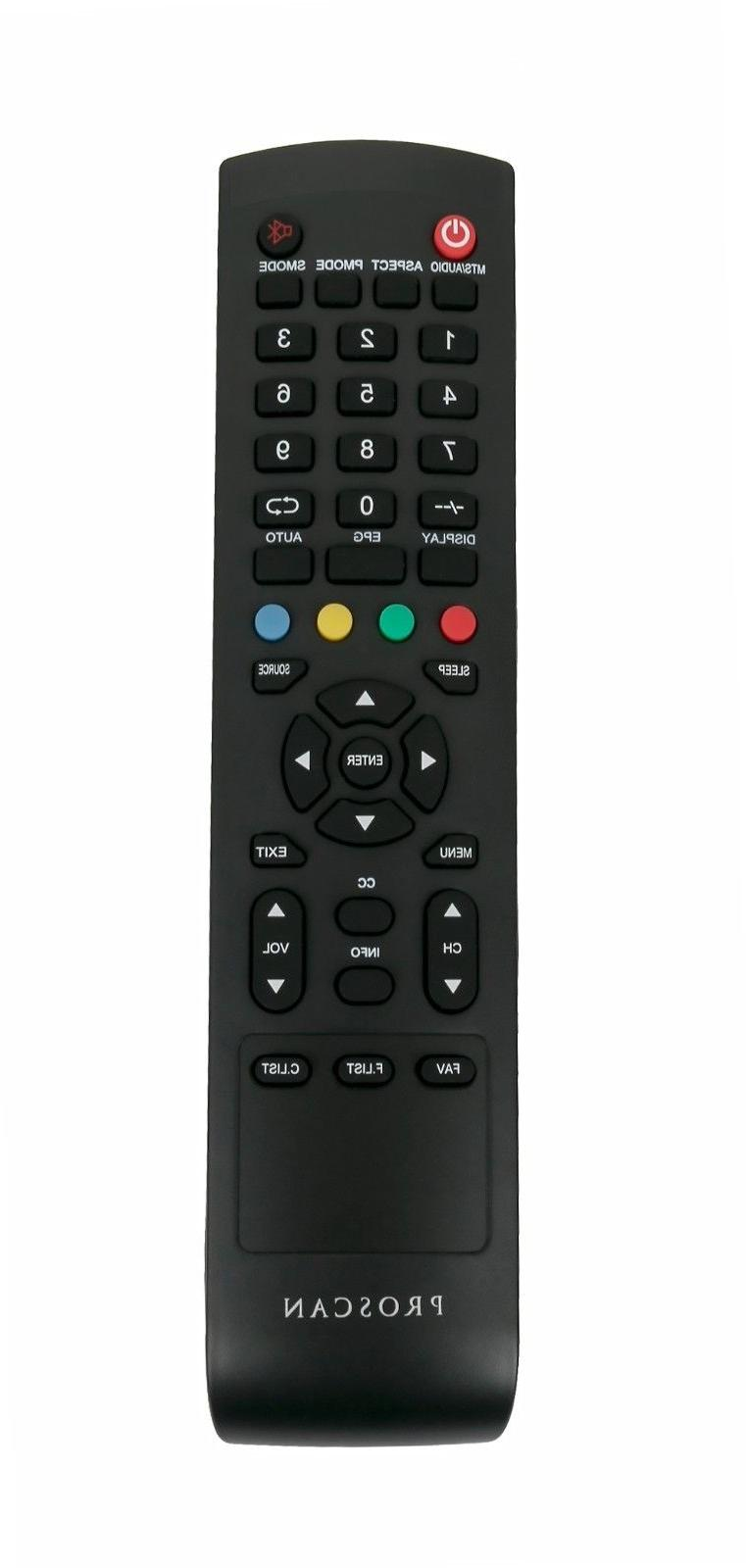 New Control fit for Proscan LED TV PLDED3996A