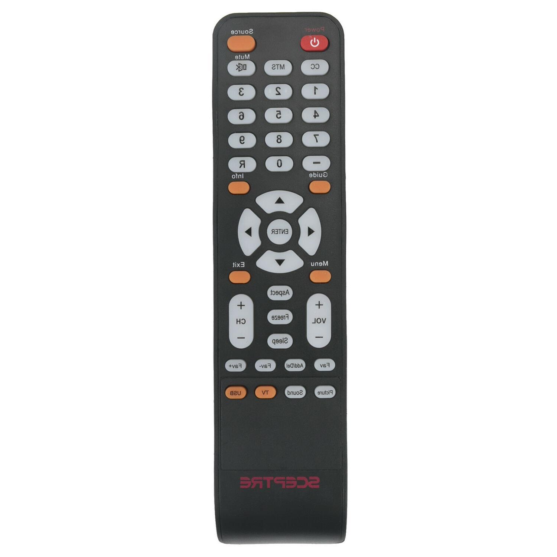 New Remote Control for SCEPTRE LED TV E243WV-FHD E243PVFHD X