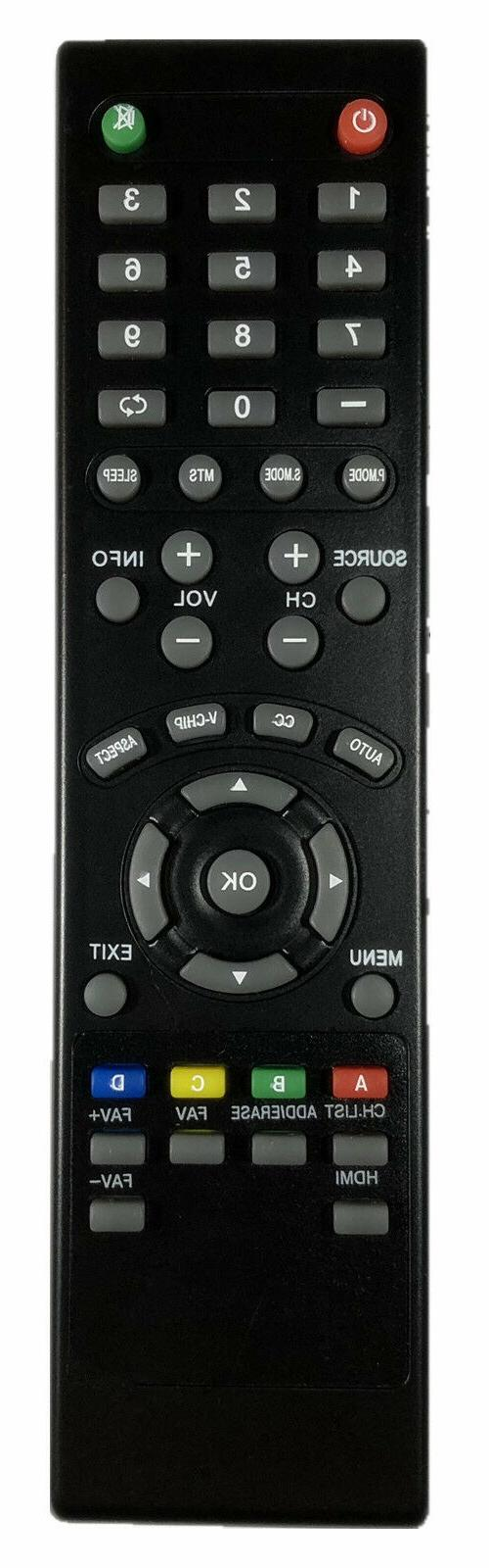new remote control for seiki lcd led