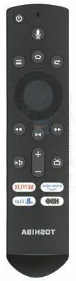 NEW TOSHIBA TV Remote Control CTRC1US19 Fire Edition