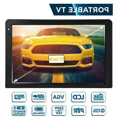 Portable 12'' TFT HD Handheld 16:9 Digital HDMI/VGA