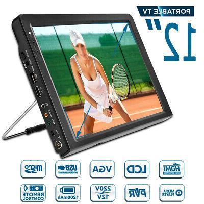 portable 12 tft led hd handheld 1080p