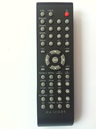 proscan dvd combo tv remote