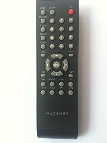 proscan tv remote control