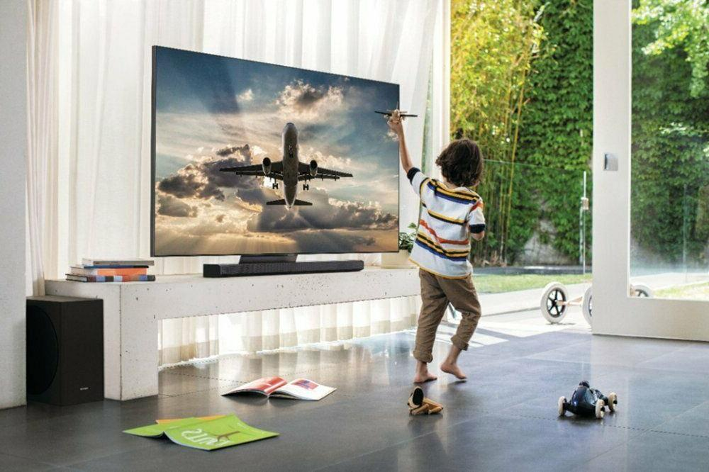 "Samsung 65"" 4K QLED Flat Panel HDTV QN65Q90T"