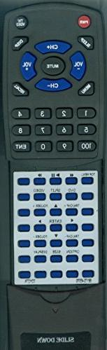 Replacement DVD Remote Control for 2011, 2012, 2013 Toyota S