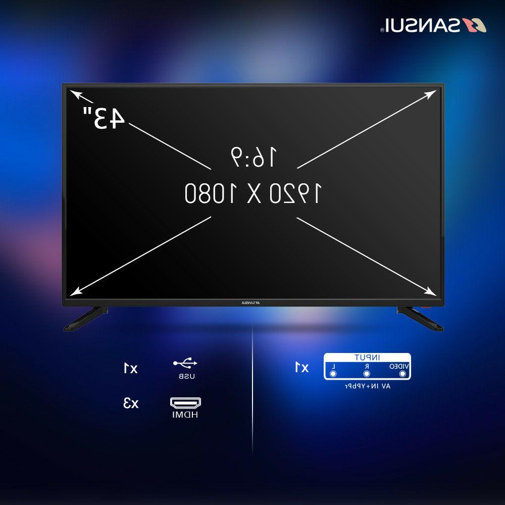 SANSUI TV TV with Flat Screen HDMI