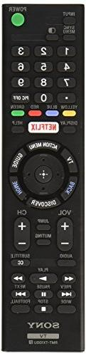 Original Sony LED Smart TV Remote Control RMT-TX100U Netflix