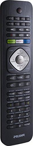 Philips SRP5018/27 Remote Control, Black
