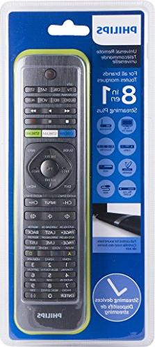Philips SRP5018/27 8-in-1 Universal Remote